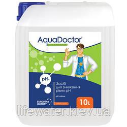 Жидкое средство для снижения pH AquaDoctor pH Minus (Серная 35%) (10л)