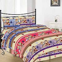 Комплект постельного белья 10-0501 brown полуторный (50х70) Руно
