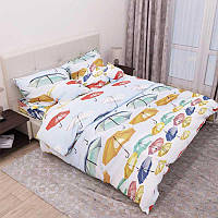Комплект постельного белья 4114 евро (50х70) Руно