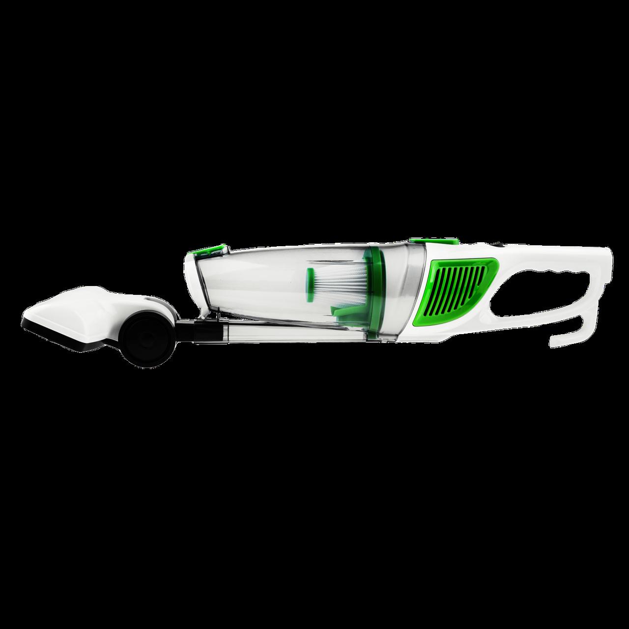 Безшумний компактний пилосос Tinton зелений