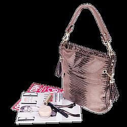 Жіноча сумка Realer P111 хакі