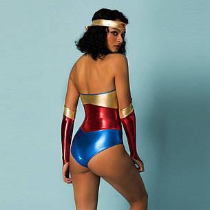 Эротический ролевой костюм Wonder Woman S/M, фото 2