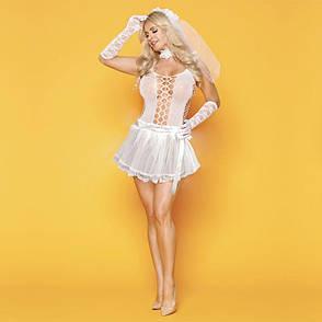 Эротическое свадебное платье Развратница Сюзанна S/M, фото 2