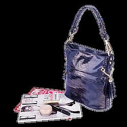 Жіноча сумка Realer P111 синя