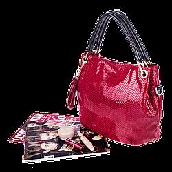 Жіноча сумка Realer P008 червона