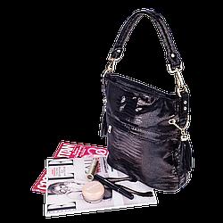Жіноча сумка Realer P111 чорна