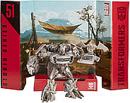 Transformers Саундвейв Оригинал Studio Series 51 Deluxe Soundwave, фото 3