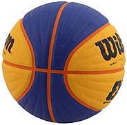 Wilson FIBA 3x3 Official Game Basketball М'яч вілсон баскетбольний розмір 6 ОРИГІНАЛ, фото 2