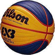 Wilson FIBA 3x3 Official Game Basketball М'яч вілсон баскетбольний розмір 6 ОРИГІНАЛ, фото 5