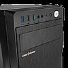 Корпус LP 2009-450W 12см black case chassis cover с 1xUSB2.0 и 2xUSB3.0, фото 4