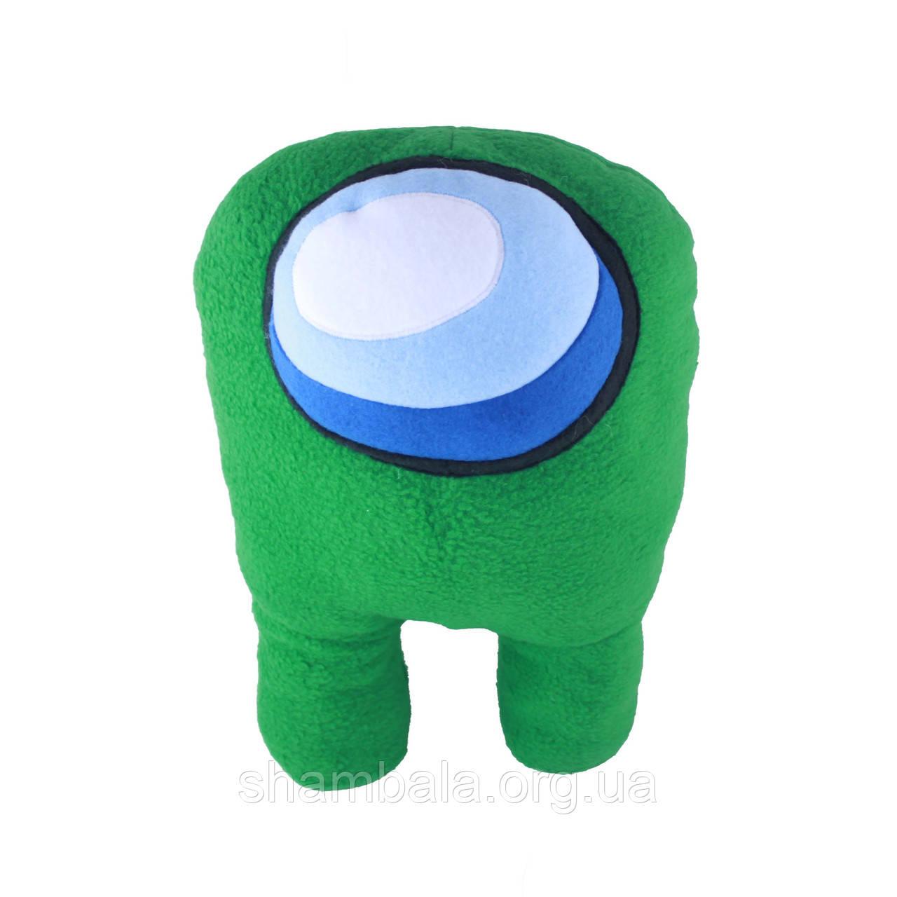 М'яка іграшка Амонг Ас, Космонавт Among Us Зелений (096032)