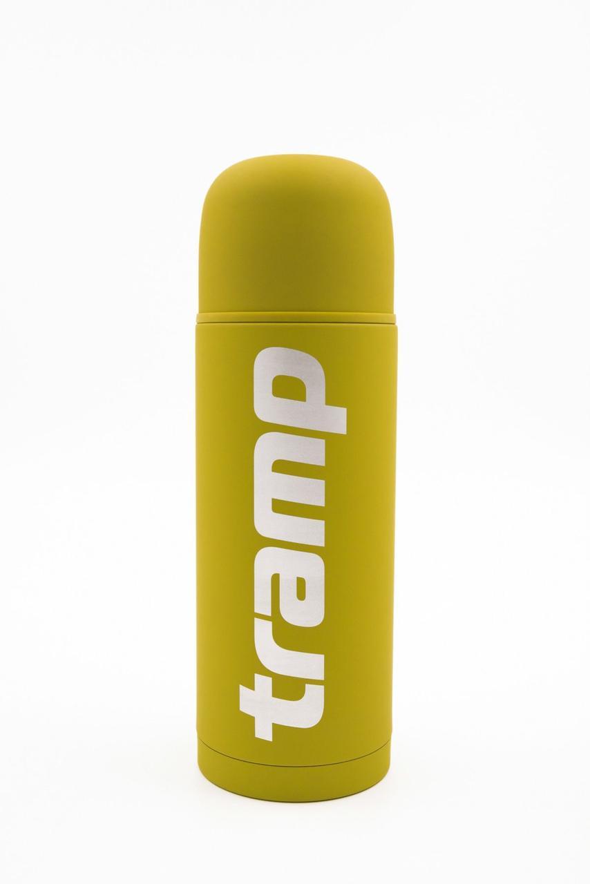 Термос Tramp Soft Touch 1.0 л жёлтый