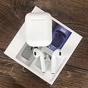 Беспроводные bluetooth наушники inPods 12 с микрофоном для пк телефона wireless вкладыши блютуз белые