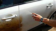 Удаление битума с поверхности автомобиля