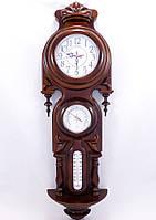 Часы настенные Виконт, барометр / термометр Гранд Презент 0/900 х 280 х 100