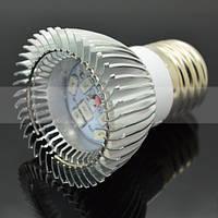 LED  фитолампа с широким красно-синим  спектром - 10 LED/ 220В.