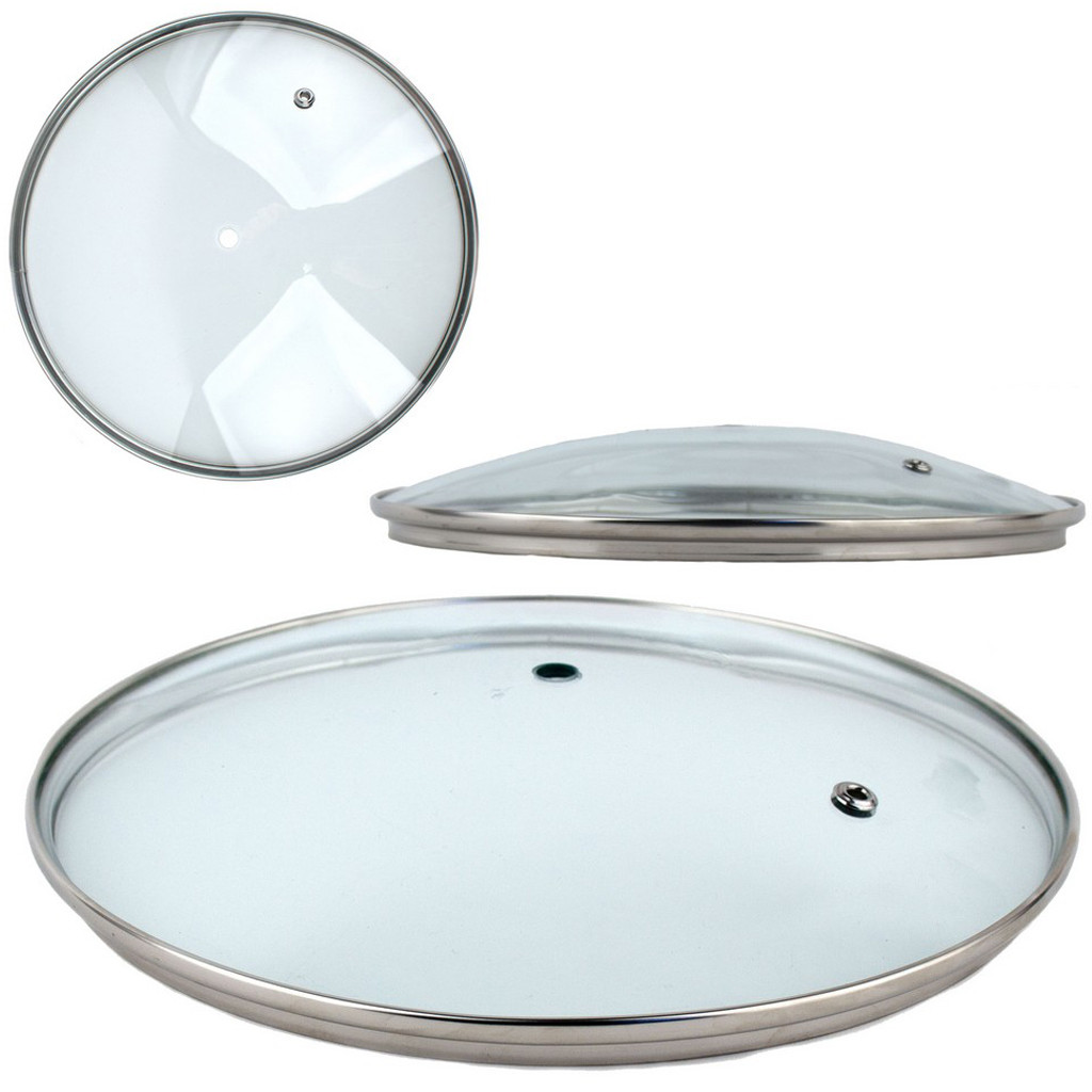 Крышка стеклянная для сковороды 20 /цена без ручки