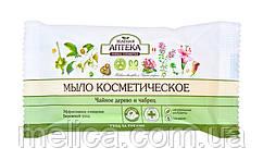 Мыло косметическое Зеленая Аптека Чайное дерево и чабрец - 75 г.