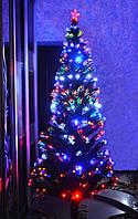 Новогодняя светодиодная, светящияся, оптоволоконная, елочка 210см