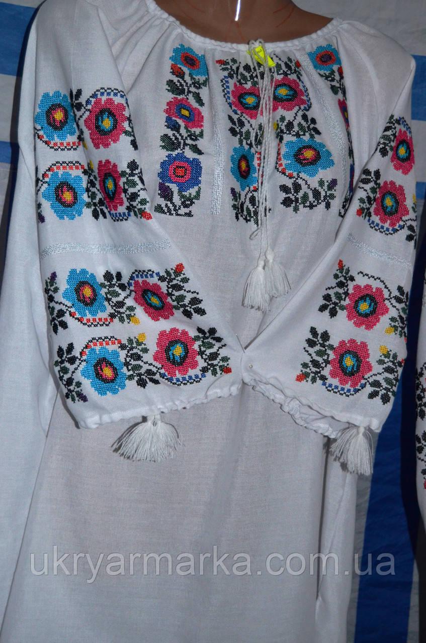 """Жіноча вишивана блузка """"Калейдоскоп"""""""