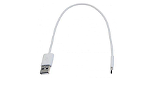 Кабель USB 2.0 (AM) - microUSB (B) 0.2м, Acer (NC.21811.002) белый, оригинал новый