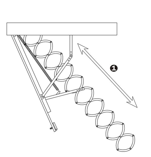 чердачная лестница из металла | раздвижная лестница оман металл |  ножничная лестница