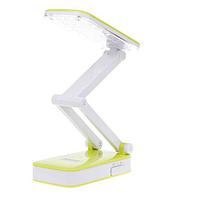 Лампа светодиодная настольная Kamisafe KM 6668C Салатовый светильник на стол для школьника девочки мальчика