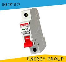 Автоматический выключатель однополюсный (1p) E.next 16А, 25А, 50А stand