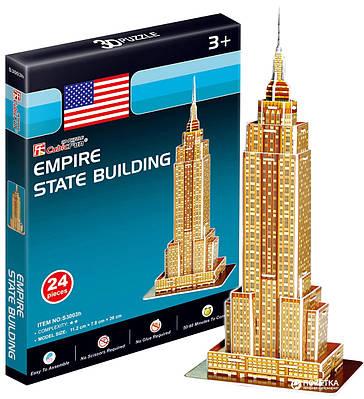 3D пазл CubicFun Эмпайр-стейт-билдинг мини (S3003h) 24 шт (6944588230036)