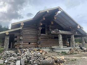 Реставрація та відновлення дерев'яна дерев'яних будинків, оновлення естетичного вигляду, захист
