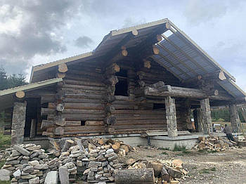Реставрація та відновлення дерев'яних будинків, оновлення естетичного вигляду, захист