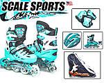 Комплекты роликовых коньков торговой марки Scale Sports