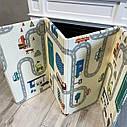 Детский складной термо коврик Mat4baby развивающий Дорога - Лес 1500*2000*6 мм, фото 4