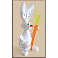 КВ-026 Любитель морковки. Чарівна Мить. Набор для квиллинга