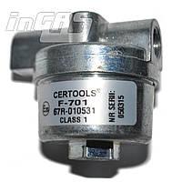 Фильтр жидкой фазы газа (пропан-бутан) D8/D8 с бумажным сменным фильтроэлементом, F701