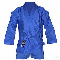 Кимоно самбо синее Velo VL-8127
