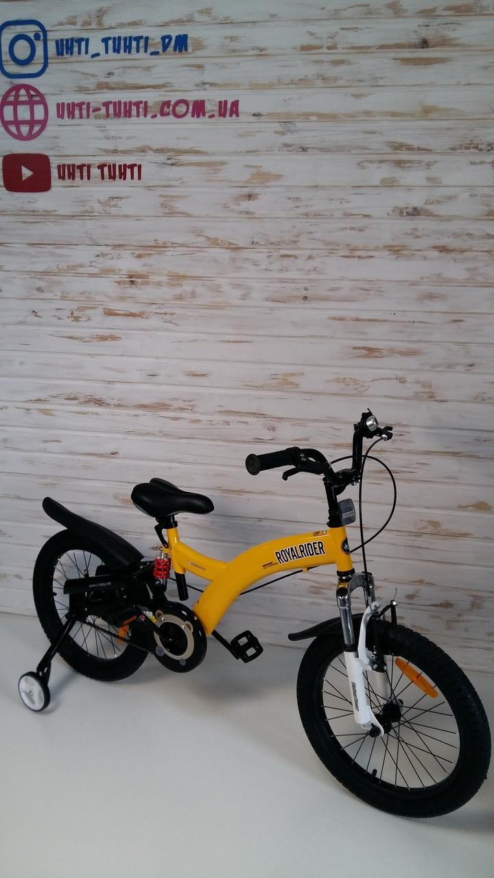 """Велосипед 2-х колісний дитячий жовтий Royal Baby FLYING BEAR 18"""" RB18B-9"""