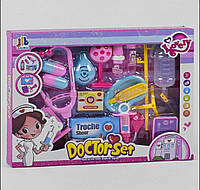 Игровой набор доктора медицинский инструменты в коробке