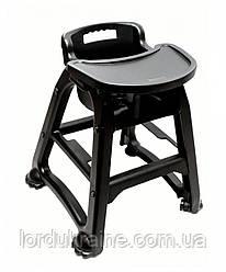 Детский стульчик для ресторана, черный