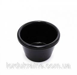 Соусник 55 мл, меламин 6 x 4 см черный