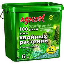 Удобрение 5кг  100 дней для хвои Agrecol