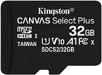 Карта памяти Kingston microSDHC 32Gb Canvas Select Plus A1 UHS-1 (R-100 Mb/s), фото 1