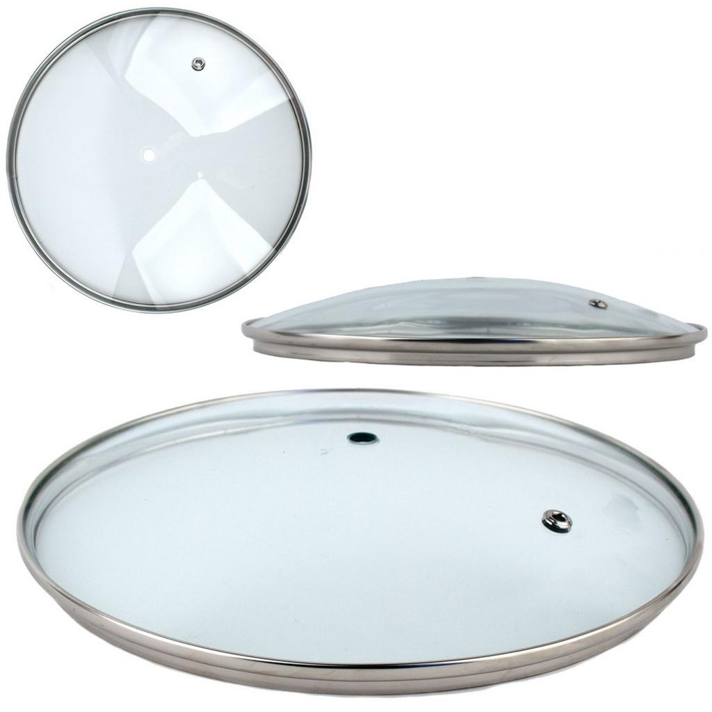 Крышка стеклянная для сковороды 16 /цена без ручки