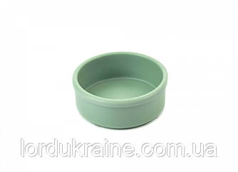 Соусник круглый из меламина 80 мл, пастельно зеленый, 78 × 30 мм