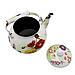 Чайник эмалированный  с керамической ручкой 2,5 л Полевые цветы Zauberg  1/L, фото 2