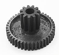 Шестерня 43\11 зубьев средняя металл. редуктора 550 детского электромобиля