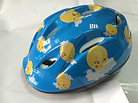 Велошлем детский синий