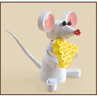 КВ-028 Мышка. Чарівна Мить. Набор для квиллинга
