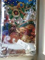 Пакеты новогодние для конфет не прозрачные 18х38 100 шт