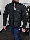 Куртка Puma демисезон чёрная, фото 4